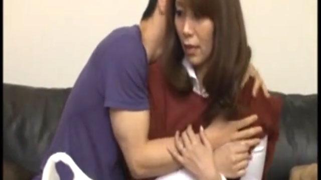 【翔田千里】近親相姦!義母の膣内に射精!