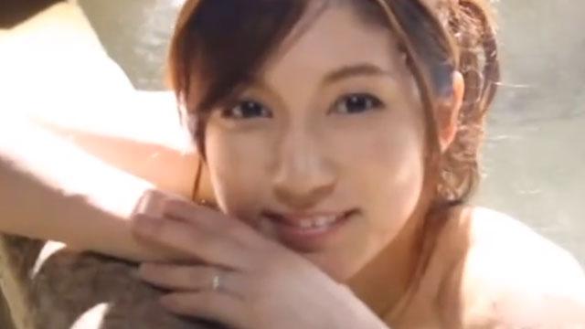 美人奥様と不倫旅行、セックス三昧で雌の顔になりイキ狂うww 長谷川栞
