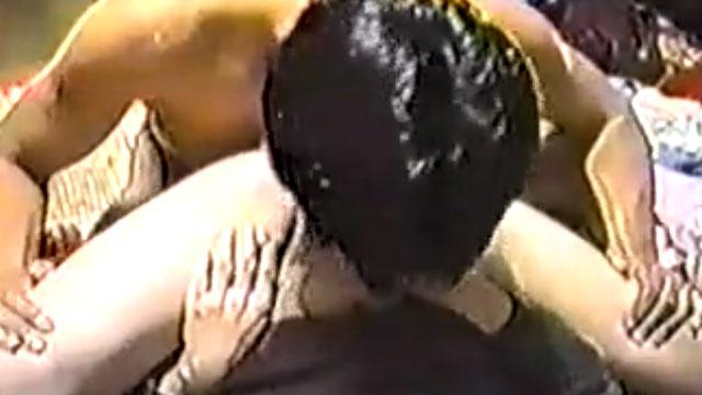 【個人撮影】一般夫婦が撮影したお互いの性器を貪り合うオーラルセックスが生々しすぎる!
