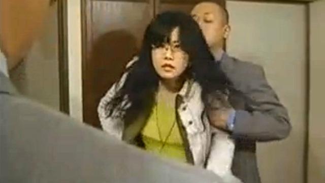 浅井舞香 ワンマン女社長が社員の恨みを買い集団で犯されるが…