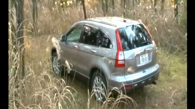 山中で不倫カーセックス車発見!揺れる車体www
