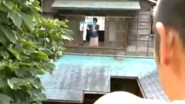 【熟女レイプ】向かいのストーカー親父に自宅侵入されチンポをねじ込まれる 中森...