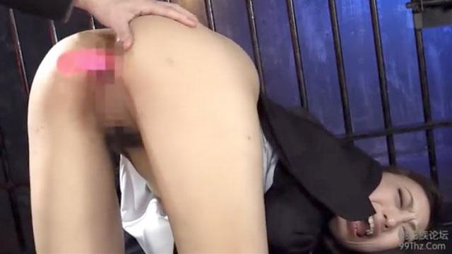 【神納花】女教師「あっぁあお尻ぃ!」尻穴を徹底的にイジメ抜かれて悶絶ケツアクメw