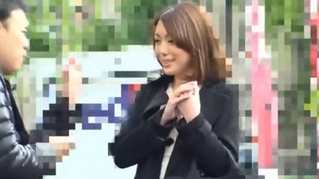 美人妻ナンパ不倫、中出しを断固拒否するも強引膣内射精ww